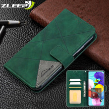 Skórzane etui z klapką do Samsung Galaxy A42 A21S A51 A71 A12 A32 A52 A72 A31 A41 A01 A50 A70 A40 A30 A20 A10 A02 portfel pokrywa karty