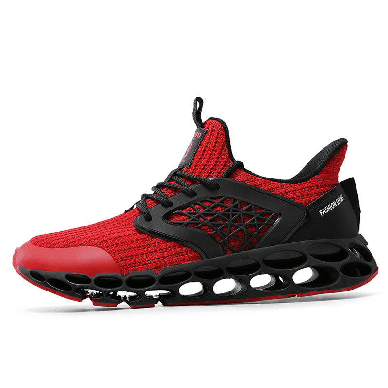 Spring and autumn 2020 new men's casual sports shoes running tide shoes Korean trend wild increase men's shoes red bottom