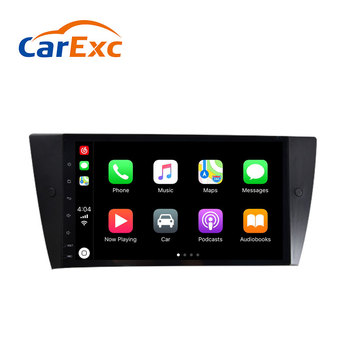 Android 9.0 Autoradio Built-in CarPlay GPS Navigation Compatible With For BMW E90 E91 E92 E93 320i 325i 330i 335i 3 Series Radio image