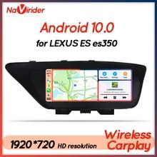 Android 10รถมัลติมีเดีย Player วิทยุสำหรับ Lexus Es350 2017 ES 200 250 350 2013 GPS Navigation 4 + 64โปรเซสเซอร์ Autoradio 2 Din