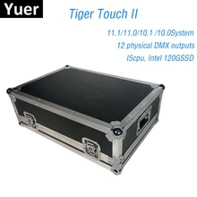 NEW Tiger Touch II Controller DJ Equipment DMX 512 Console Stage Lighting For LED Par Moving Head Spotlights Disco DJ Controller 192 dmx stage lighting dj equipment console for led par moving head spotlights