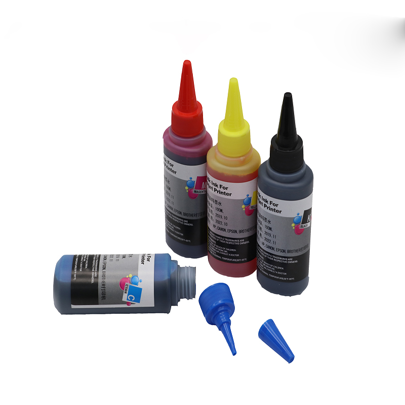 4colors 100ml Refill Ink Kit Kits  Compatible Ink for Epson for HP Canon for Brother Refillable Inkjet Printer|Ink Refill Kits| |  - title=