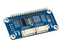 סידורי הרחבת כובע לפטל Pi  I2C ממשק  מספק 2-ch UART ו 8 GPIOs