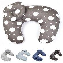 Oeak/подушки для новорожденных и кормящих детей; u-образная подушка для грудного вскармливания; хлопковая Подушка для кормления