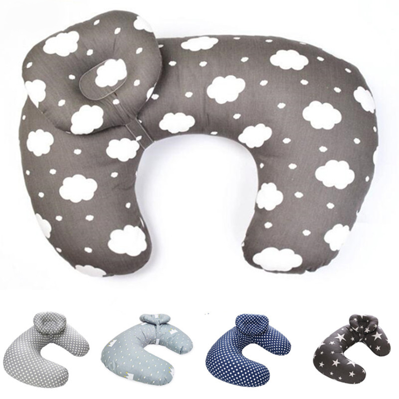 Oeak Newborn Baby Nursing Pillows Maternity Baby U-Shaped Breastfeeding Pillow Infant  Cotton Feeding Waist Cushion Care