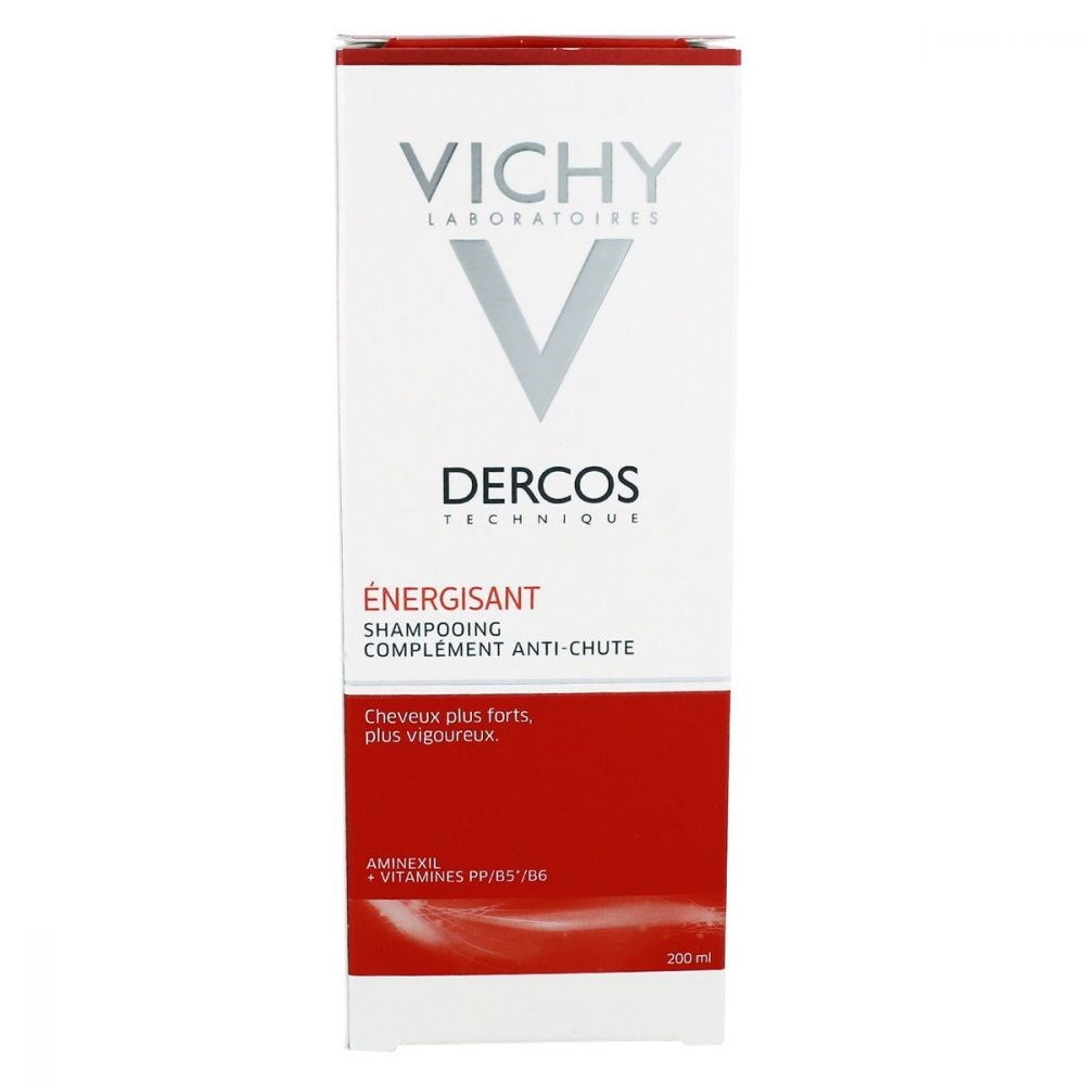 Vichy Dercos Energisant Shampooing-Energy Giving Support Shampoo 200 Ml