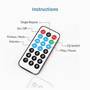 Image 5 - UNISIAN Bluetooth 5.0 decoder Board USB u disk tf card Aux Signal input Support MP3  WMA WAV FLAC APE remote control DAC Decoder