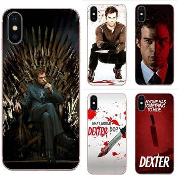 Dexter Morgan sangre Cruz arte cartel para Samsung Galaxy A10 A20 A20E A3 A40 A5 A50 A7 J1 J3 J4 J5 J6 J7 2016 de 2017 a 2018