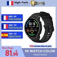 Xiaomi-reloj inteligente Mi, dispositivo deportivo con control del ritmo cardíaco y del sueño, Pantalla AMOLED 5,0, GPS, oxígeno en sangre, Bluetooth 1,39, versión Global a Color