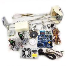 Crane Machine kit,DIY Toy Crane machine kit with crane game PCB, coin acceptor, buttons, harness. etc for crane machine