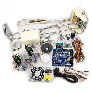 Image 1 - Комплект крановых машин, DIY игрушечный комплект крановых машин с подъемной игровой печатной платой, монетоприемником, кнопками, жгутом. И т. Д. Для крана