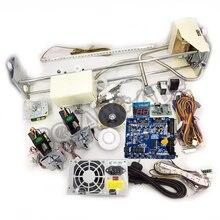 Vinç makinesi kiti, DIY oyuncak vinç makinesi seti vinç oyun PCB, sikke alıcı, düğmeler, kablo demeti. Vb için vinç makinesi