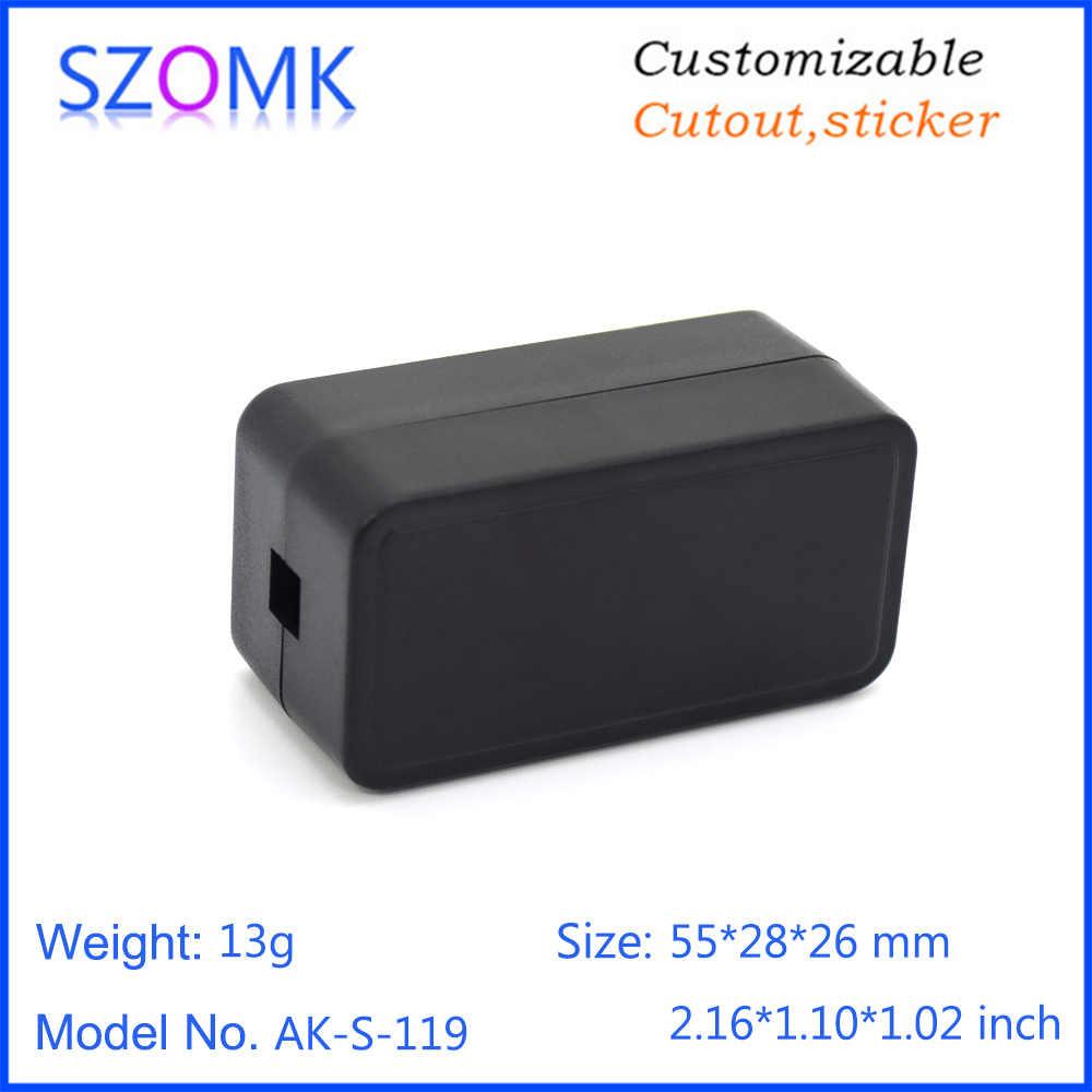 SZOMK petites boîtes de jonction en plastique abs standard pour boîtier électronique 55X28X26mm pour PCB