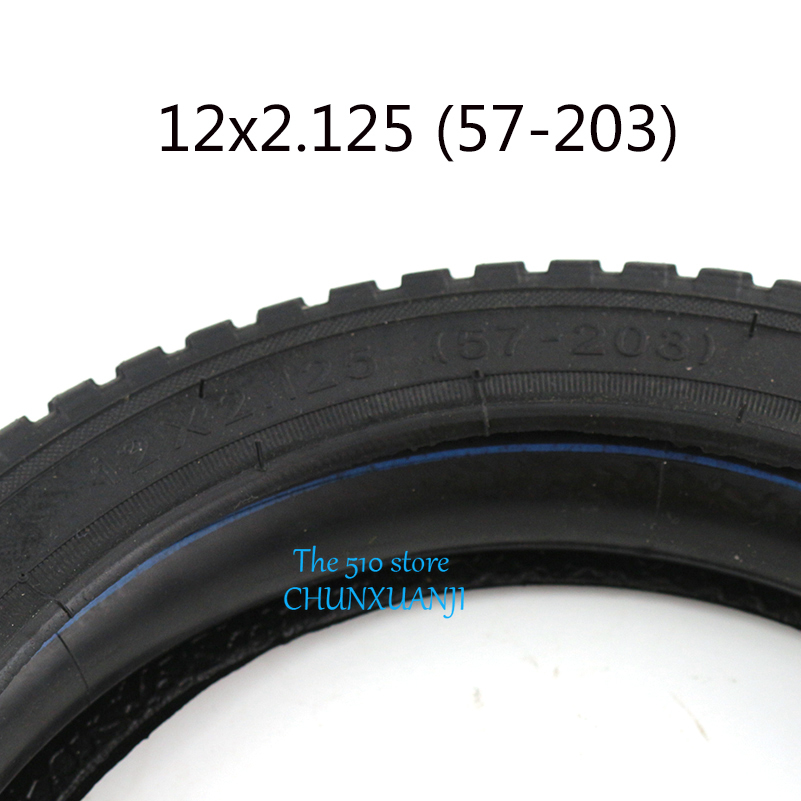 CST 12-1//2 x 2-1//4 Bent Valve Inner Tube Tire for E-Bike Electric Bike 62-203