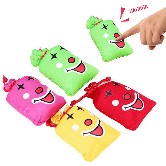 2019 Novelty Haha Squishy Toy Antistress Kawaii Funny Daughing Bag + Gag Joke Laugh Bag Kid Adult Shocker Squishy Antistress toy