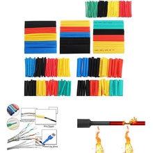 164 Pcs Schrumpf Schläuche Kit 2:1 Elektrische Isolierung Schrumpf Wrap Kabel Hülse Thermoresistant Draht Kabel Sleeving Rohr