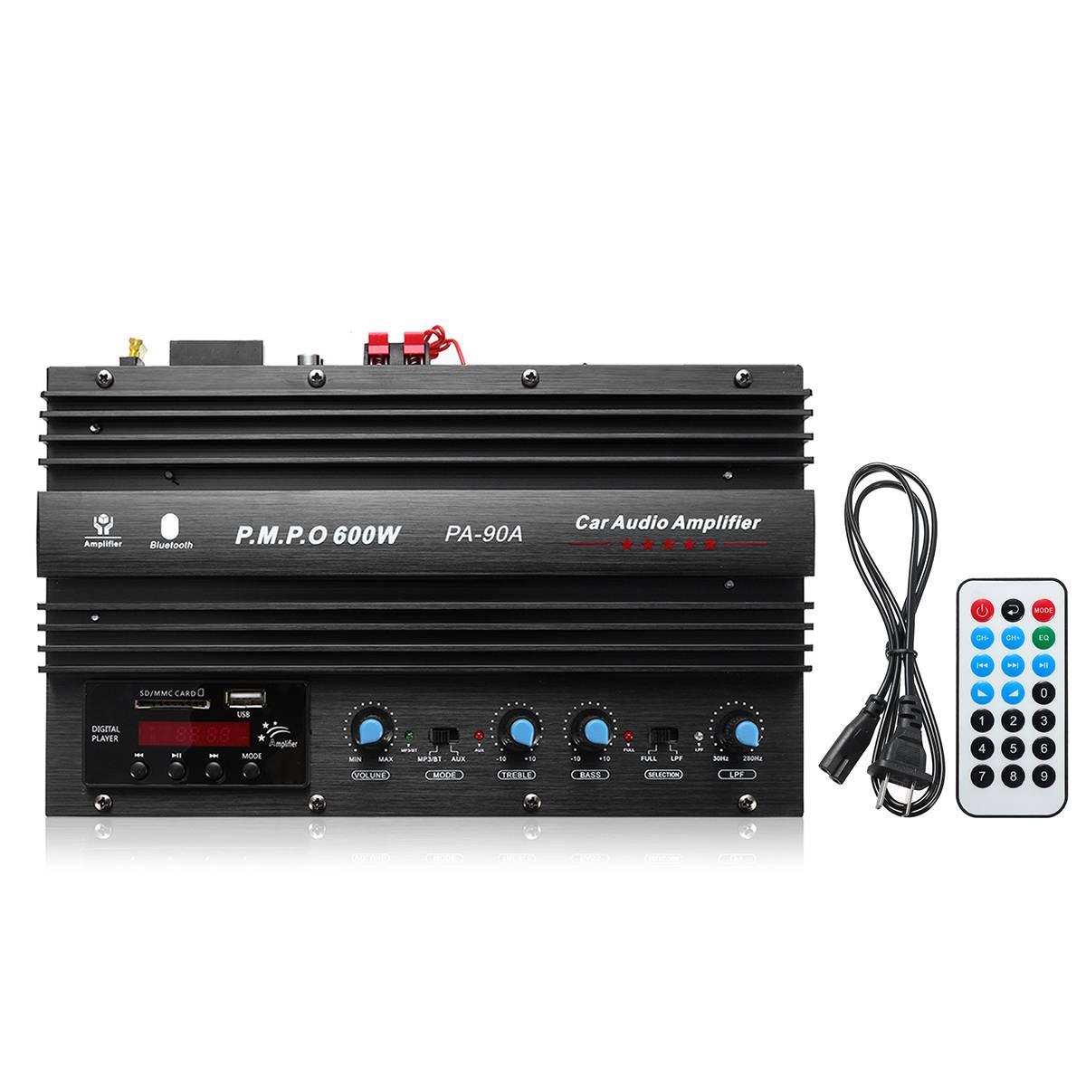 1500W HIFI Stereo Power Amplifier board Class AB Wireless bluetooth Audio car Amplifier Radio amplifiers car subwoofer