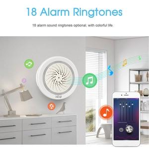 Image 4 - ワイヤレス wifi サイレンセンサー温度湿度警報スマートチュウヤサイレン amazon の google ホームアシスタント ifttt