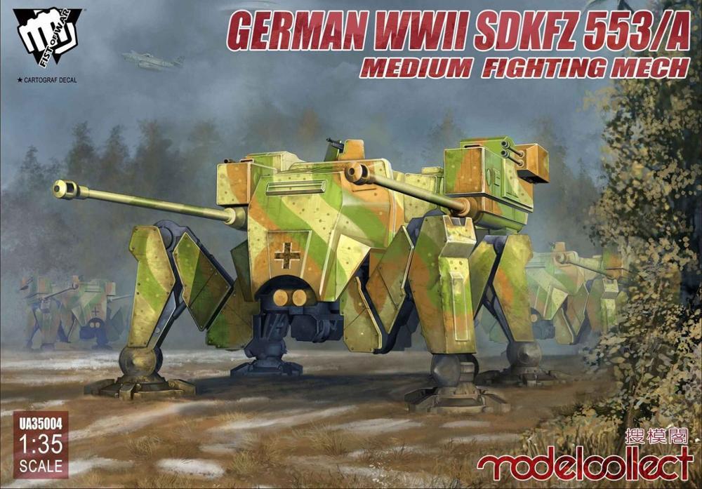 Modelcollect UA35004 1/35 German WWII Sdkfz 553/A Medium Fighting Mech
