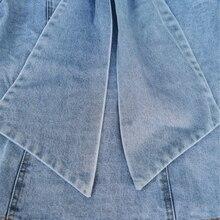 قميص جينز أنيق بربطة عنق عصرية موديل جديد