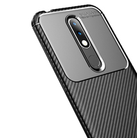 style protective For Nokia 4.2 Case Business Style Silicone Rubber Shell Coque TPU Back Phone Cover For Nokia 4.2 Protective Case For Nokia 4.2 (5)