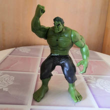 The Avengers Superhero Hulk Robert Bruce Banner Com Luz LED Criativo Art Craft Collectible Toy Modelo de Ação GK OPP 14CM Z2665(China)