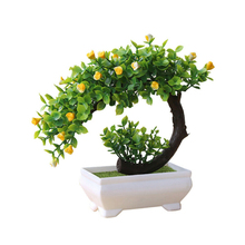 Artificial Plant Bonsai Simulation Potted Flower Home Garden Office Decoration Fake Simulation Plant Bonsai succulents mini simulation plant potted artificial green plants bonsai fake flower garden ornaments home balcony decoration