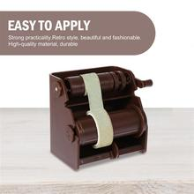 2pcs Washi Paper Cutter Washi Paper Dispensers for Home Office School (Brown)