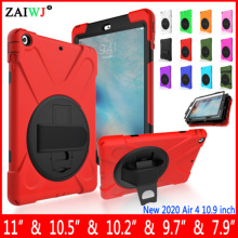 NEW Case For iPad Air 4 10.9 / 10.2 2019 2020 / Pro 10.5 / 2018 9.7 inch Cover 5th 6th 7th 8th generation Mini 1 2 3 4 5 shell