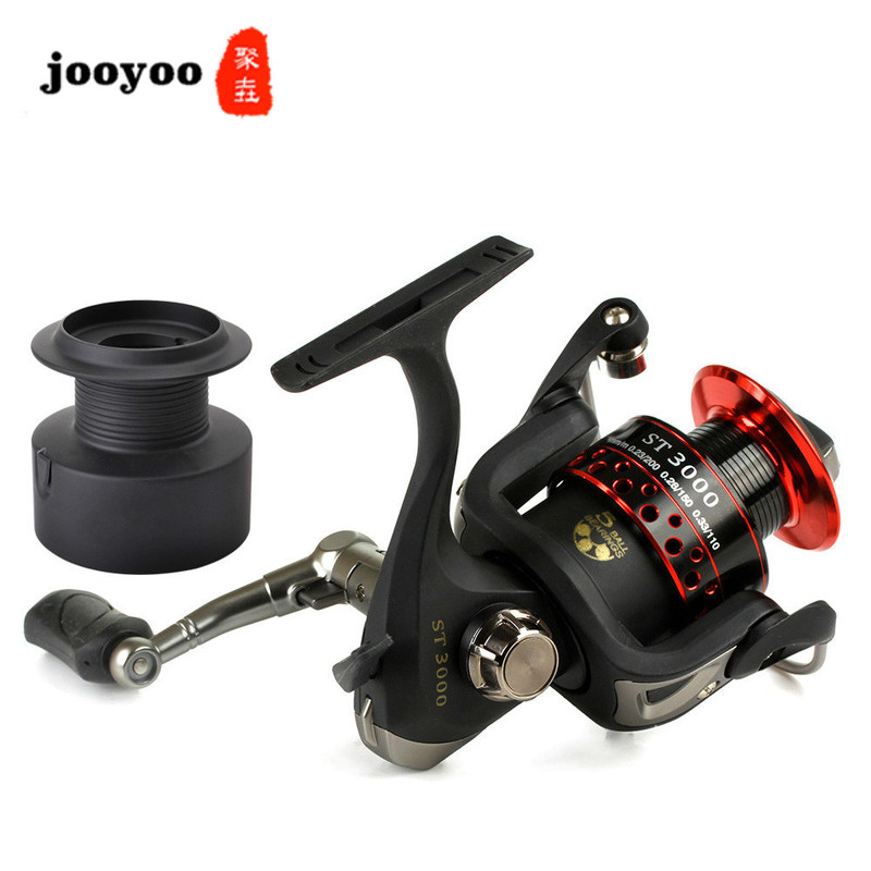 Fishing <font><b>Reel</b></font> Series 5BB Fish Line Round Sea Bream Wheel Spinning Wheel Fishing Line Round Fishing Wheel Road Fishing Gear image