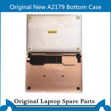 Original New Bottom Case for Macbook Air A2179 D case Lower Battery Housing Back Cover with screw 2020 Space Gray Pink