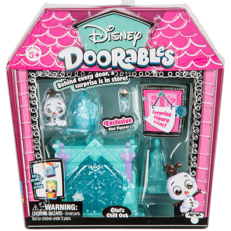 Disney Doorables Frozen Elsa Olal Mickey Minnie Judy Pinocchio Rapunzel Alice Snow White Belle Princess Blind Box Girl Kids Toys 20