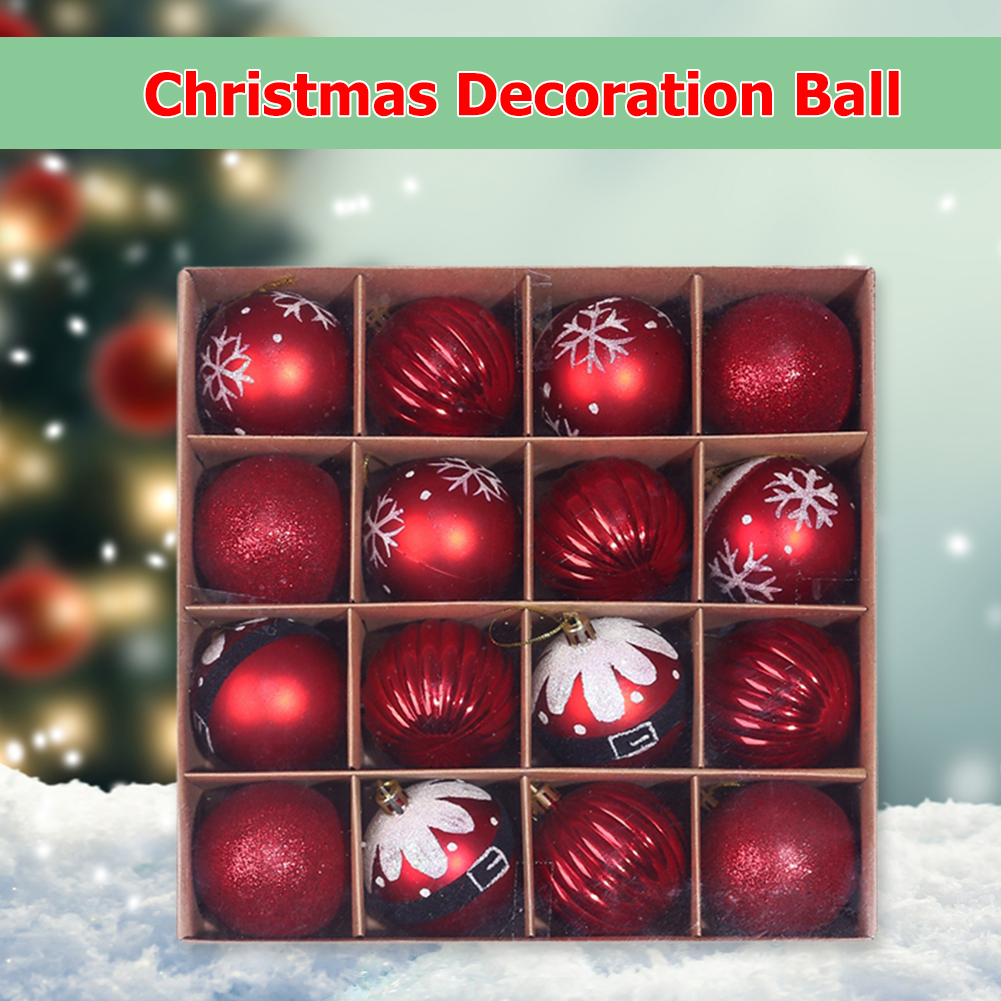 16 x Christmas Tree Baubles 5