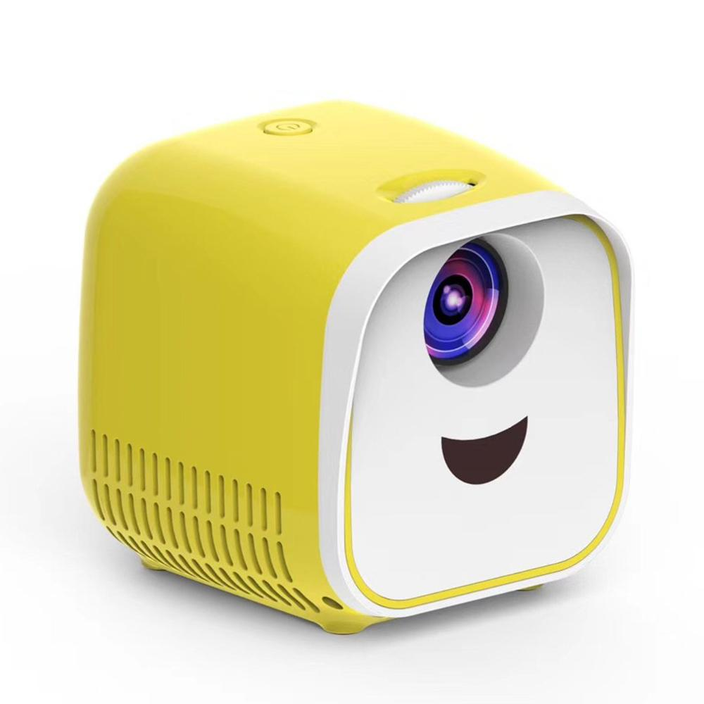 2019 New Burst L1 Portable Mini Home Projector Led Projector New Projector Easy To Use Multi-Color Aesthetic And Durable