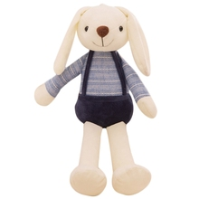40Cm Cute Bunny Plush Rabbit Toy Soft Cloth Stuffed Rabbit Easter Gift Decor Baby Appease Toys For Children Kids New Year Gift