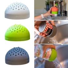 Multi-use Micro Kitchen Colander Can Drainer Lid Food Mesh Drain Tinned Fruit 449C