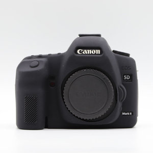 Image 3 - Silicone Armor Skin Case Body Cover Protector for Canon EOS 5D Mark II 2 5DII 5D2 Body DSLR Digital Camera ONLY