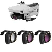 Para dji mavic mini zangão filtros lente protetor filtro cpl + nd8 nd16 filtro de densidade neutra polar para mavic mini acessórios