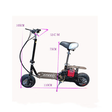 Foldable Cool Petrol Scooter Fuel Booster Gasoline Scooter Playing Scooter Not Electric