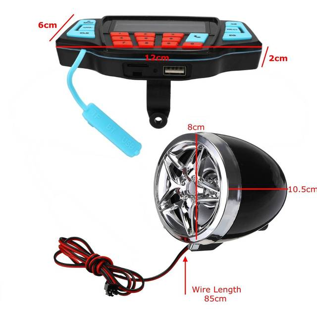 Motorcycle Audio Sound System 6