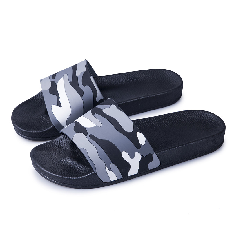Men Slippers Casual Shoes Non-slip Indoor Outdoor Summer Slides Camouflage Sandals 4 Colors Zapatos Hombre