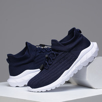 2019 Men New Fashion Casual Shoes Breathable Spring Autumn Mesh Brand Lace up Male Sneakers Lightweight Adults R1 29