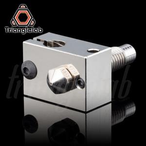 Image 2 - Trianglelab V6 מצופה נחושת זרבובית ערכת + חום בלוק + TC4 טיטניום סגסוגת חום לשבור עבור PETG פחמן סיבי פיי הצצה ABS ניילון