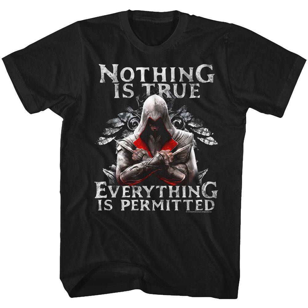 Assassins Tee Creed True Permitted Licensed Adult T Shirt