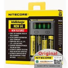 100% מקורי Nitecore חדש I4 Digicharger סוללה מטען Nitecore מטען עבור 26650 18650 18350 16340 14500 10440