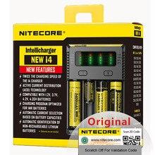 100% Originele Nitecore Nieuwe I4 Digicharger Batterij Charger Nitecore Charger Voor 26650 18650 18350 16340 14500 10440