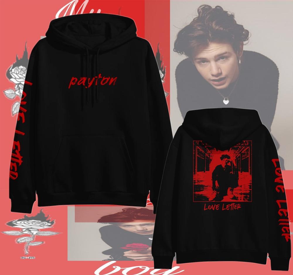 Payton Moormeier Cool Hoodies Sweatshirt Printed Women/men Spring Autumn Harajuku Casual 2020 New Internet Celebrities Fashion
