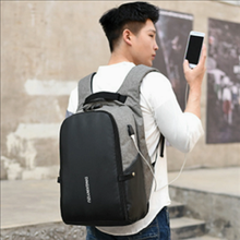 New solid color business backpack for men backpack student bag Computer Backpack Travel Bag Backpack backpack large capacity the new 2016 contracted fashion travel bag backpack gift bag business backpack