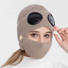 Очков очки ухо Непродуваемые шапки для катания на сноуборде