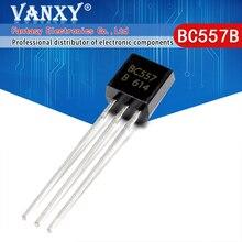 100PCS BC557B TO 92 BC557 TO92 557B 새로운 triode 트랜지스터